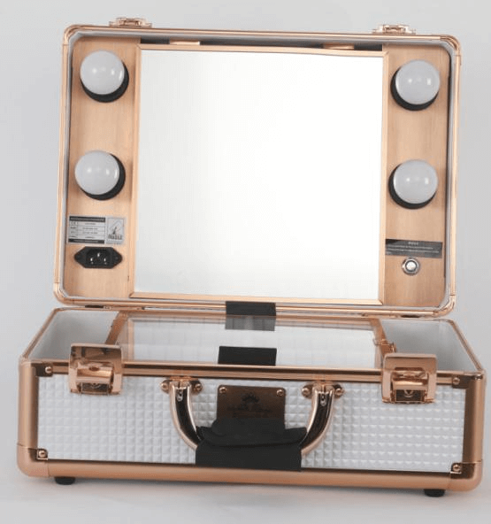 Small Diamond Series Led Vanity Suitcase Freedah Luxury