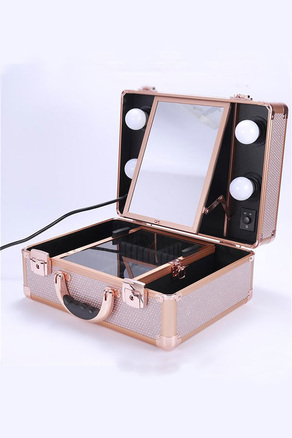 Led Vanity Travel Case Freedah Luxury